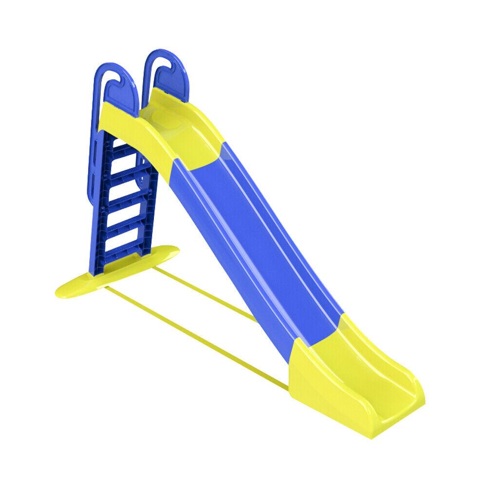 Rutsche Kinderrutsche Gartenrutsche Garten Kinder blau-gelb, Rutschlänge 240 cm