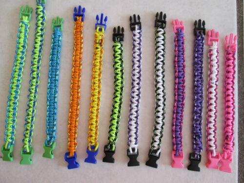 Paracord Schlüsselanhänger Armband,Outdoor Armbänder Camping Trend