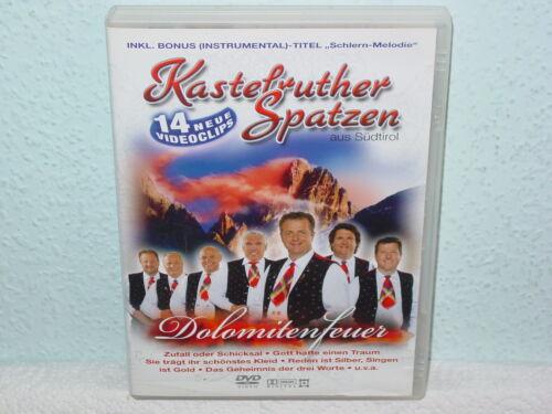 """1 von 1 - *****DVD-KASTELRUTHER SPATZEN""""DOLOMITENFEUER""""-2007 Koch Universal Music*****"""