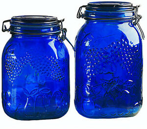 Image Is Loading Wedding Gifts Set Of 2 Glass Kitchen Canisters