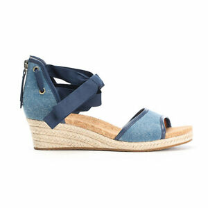 bd610defc4a Details about UGG AUSTRALIA AMELL WEDGE SANDALS BLUE SIZE 10 NEW IN BOX