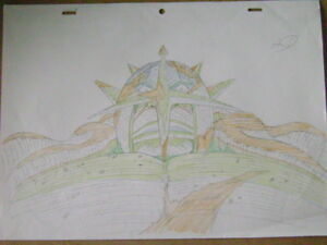 Details About One Piece Anime Production Genga Douga Sketch 10