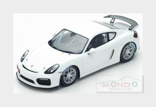 Porsche Cayman Gt4 Clubsport Coupe 2017 White Spark 1 18 18s260 Model