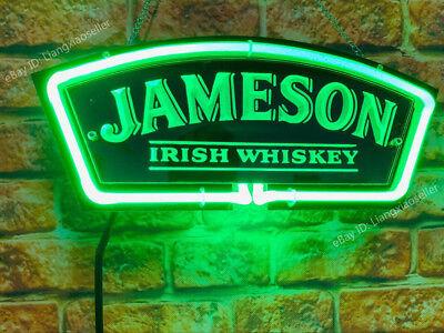New JAMESON Irish Whiskey 3D Acrylic Beer Bar PUB Real Neon Sign light |  eBay