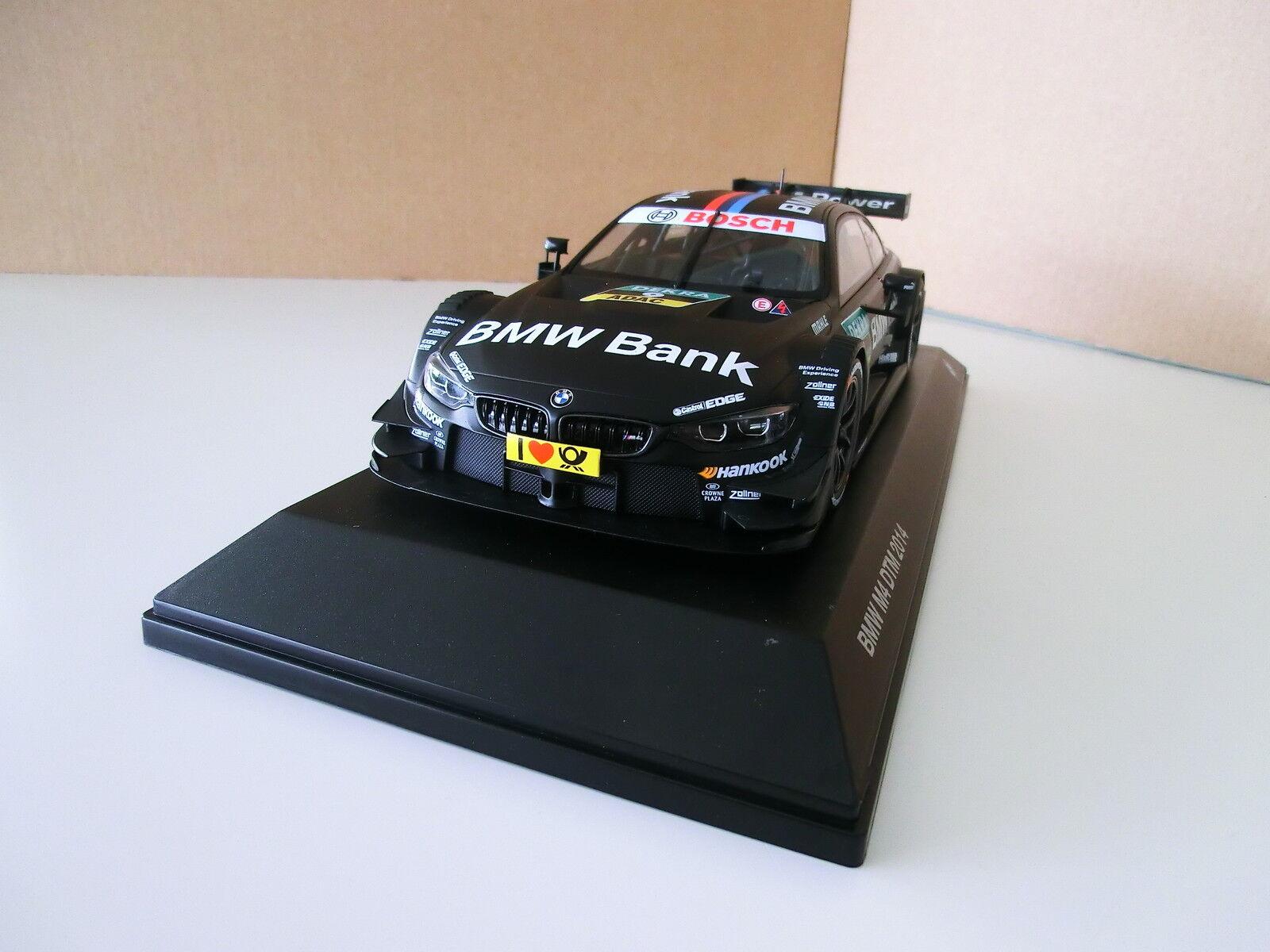 ORIGINALE BMW // m4 f82 DTM 2014 1:18 B. Spengler Team Schnitzer 80432364864