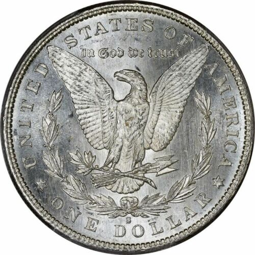 BU 1881-S Morgan Silver Dollar Brilliant Uncirculated
