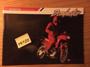 Honda-NX650-Dominator-Type-F-NX-650-Prospectus-Motorbike-Brochure-Fold