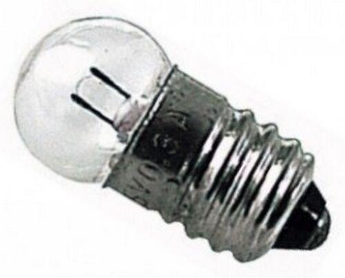 2 PEZZI AG0836 LAMPADINA 3,5V E10 0,2A