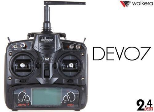 WALKERA DEVO 7 2.4G 7CH LCD Screen Radio System Transmitter for RC Airplane