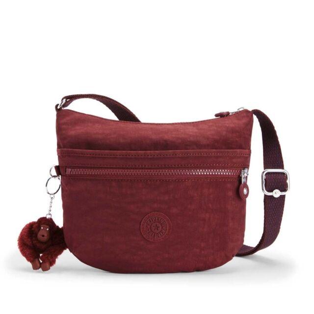 1ecc28f44 Kipling Arto S Burnt Carmine C Small Handbag/Shoulder bag/Cross body BNWT