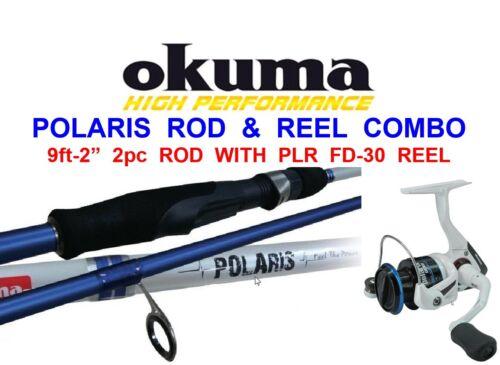 CLEARANCE OKUMA POLARIS ROD SEA GAME COARSE FISHING SPINNING PIKE BASS PERCH