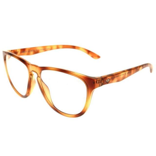 adidas San Diego Sunglasses Ah56 00 6055 Brown Frames Clear Lenses ...