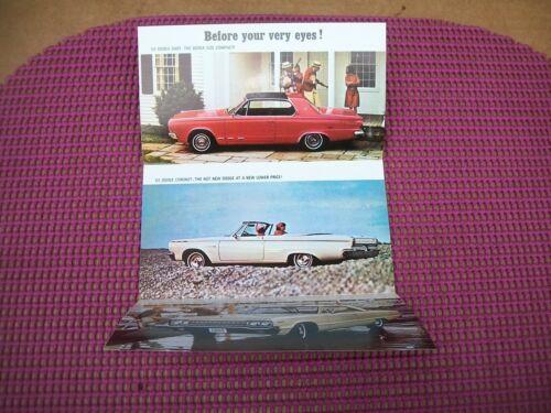 1965 Dodge Dart Coronet Monaco MoPar Sales GT MoPar 500