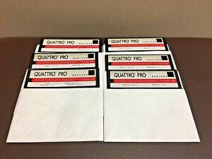 Borland-Quattro-Pro-Installation-5-25-5-1-4-Floppy-Disks-1-6-Version-3-0