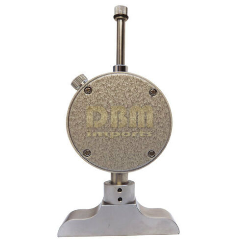 """Dial Indicator DEPTH Gage Hardened Gauge Measuring Range 0-22/"""" Reading 0.001/"""""""