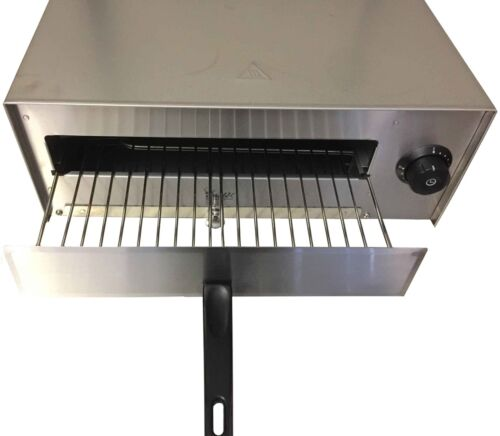 Commercial Pizza Oven, Electric Toaster Snack Grill 12 Inch Stainless Steel  DymPJ