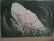 Benton Spruance lithograph - The Whiteness of the Whale