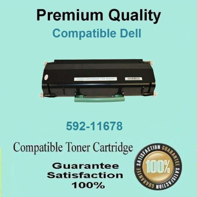 1x Toner Cartridge Black For Dell 2335 2335CN 2335DN High Capacity 6000 pages