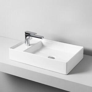 Lavandino-Lavabo-Appoggio-Design-Scalino-in-Ceramica-38x60-cm-vari-colori