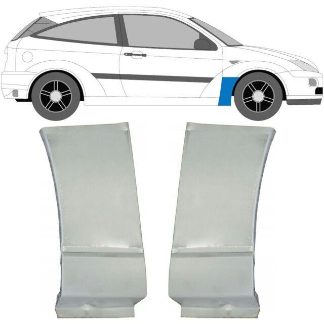 Ford Focus Mk1 1998-2007 Vorne Kotflügel Reparaturblech / Paar