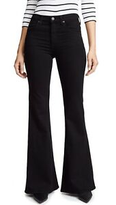 search for genuine new style choose latest Details about NWT Citizens of Humanity Jeans Chloe Super Flare Bellbottom  Mid Rise Black sz 24