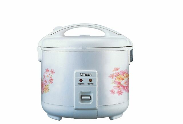 TIGER 5.5 CUP RICE COOKER JNP1000 ( MADE IN JAPAN) LOVELY FLOWER