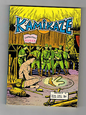 ► KAMIKAZE N°16 -LE PACIFIQUE EN ERUPTION - COLLECTION AUDAX - AREDIT 1978 TBE