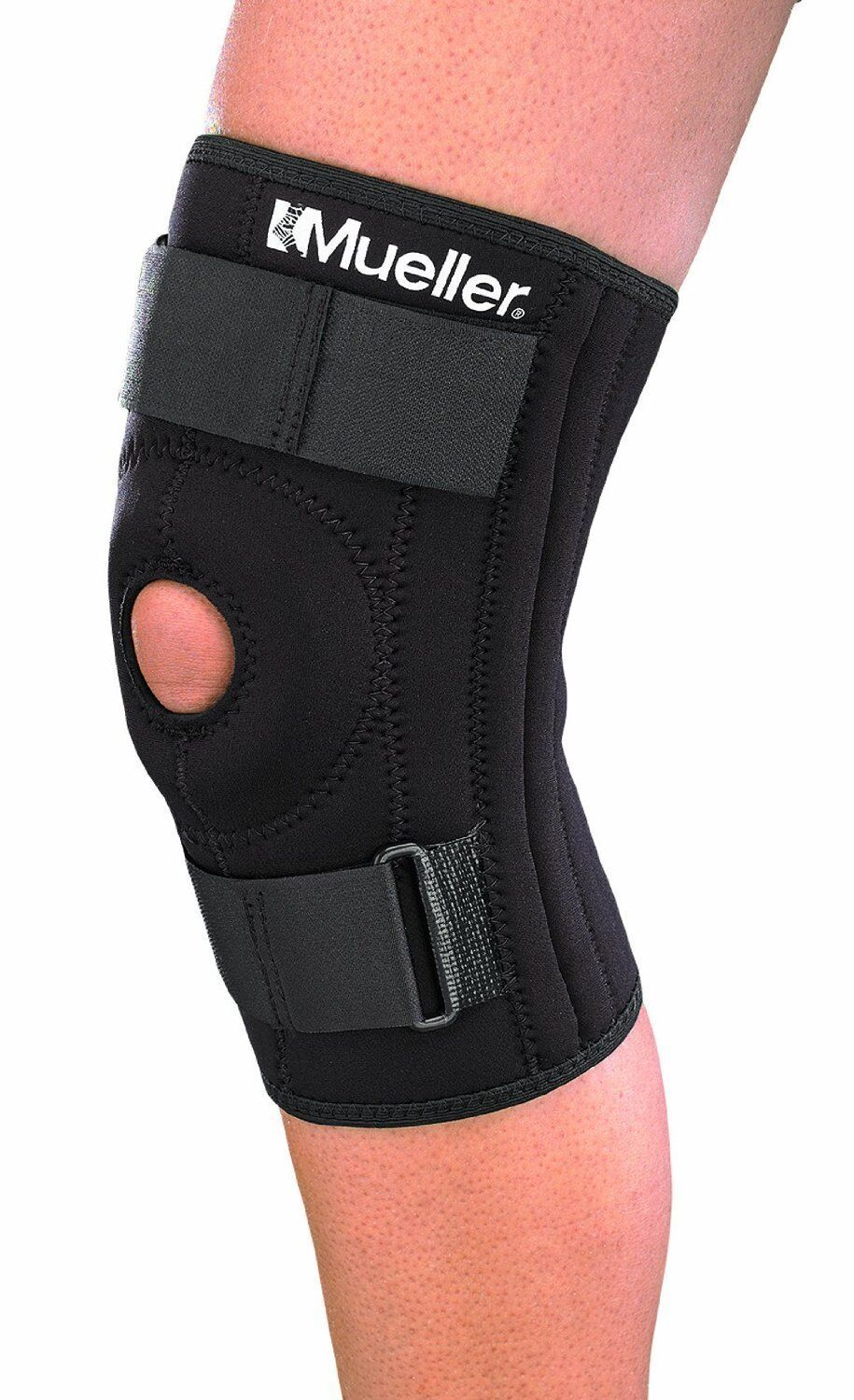 Mueller Sports 2313 Patella Stabilizer Knee Brace Support With Spring SALE