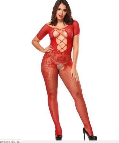 2020 Damen Dessous Reizwäsche Körper Strümpfe Catsuit Body Stockings Unterwäsche