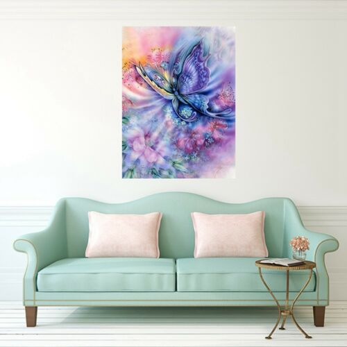 Full Drill Dream Butterfly Flowers 5D Diamond Painting Cross Stitch Craft Nice