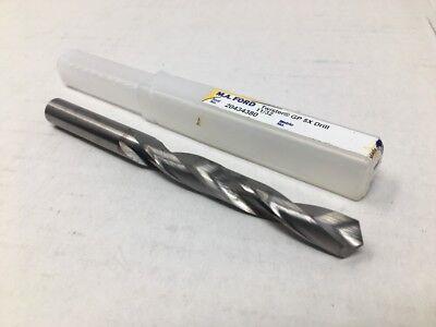 """M A Ford Series 204 Twister GP 5X Solid Carbide Drill Bit 11//32/"""" Diameter .3438"""