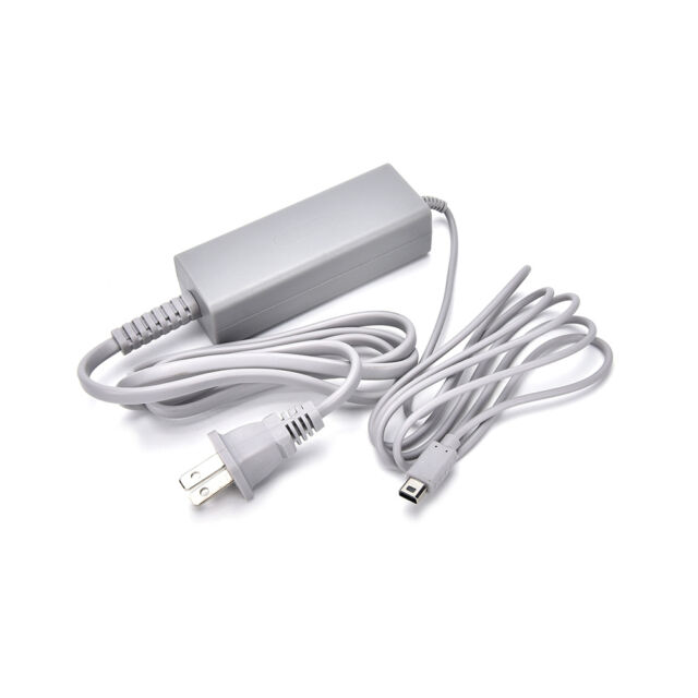 US Plug Home Wall Charger AC Adapter Power Supply For Nintendo Wii U Gamepad PT