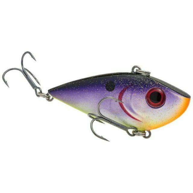 Strike King Crankbait Lipless Red Eye Shad REYESD12-452 Royal Purple