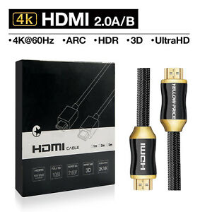 yellowprice cl3 rated in wall installation hdmi cable 2 0v 25ft 8m rh ebay com