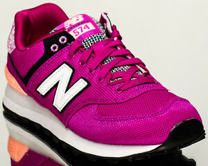 b9b9c5fcd490e New Balance WMNS 574 NB women lifestyle casual sneakers purple WL574 ...
