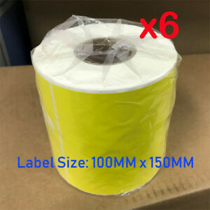 6x-Direct-Thermal-Shipping-Yellow-Labels-for-Fastway-eParcel-Startrack-TNT