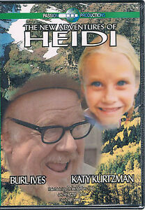The New Adventures Of Heidi DVD (color) Burl Ives Katy