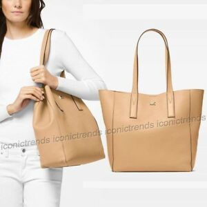 a81e42eee7d8 Image is loading NWT-Michael-Kors-Junie-Large-Slouchy-Shoulder-Leather-