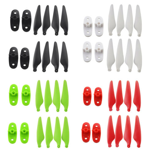 Plastic Propeller w// Fixed Blade Clip for Hubsan Zino H117S RC Drone Parts