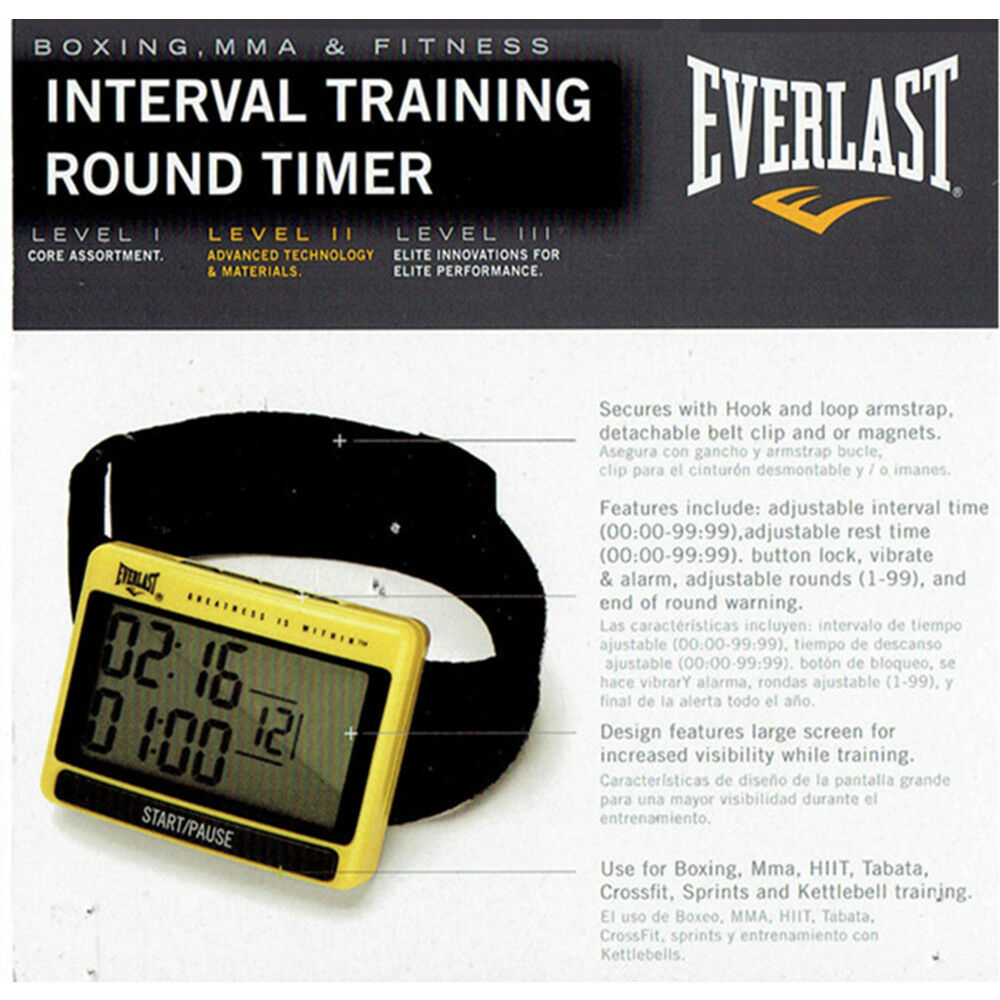 LED Digital Boxing Round Timer Gym Interval  Training MUAY THAI,MMA,HIIT,Tabata  offering 100%