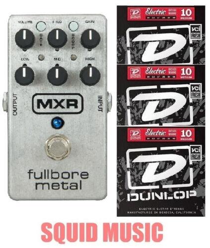 MXR M116 Fullbore Metal Distortion Guitar Effects Pedal M-116 3 STRING SETS