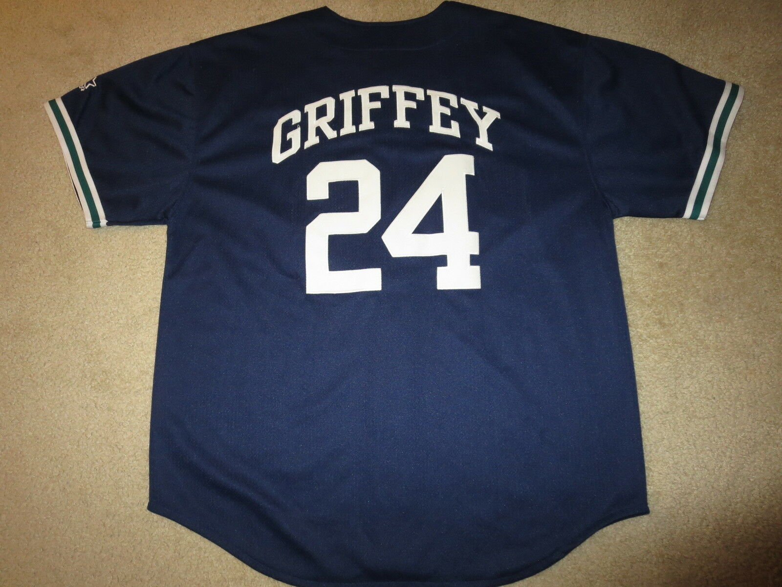 Ken Griffey Jr.  24 Seattle Seeleute Seeleute Seeleute MLB Starter Trikot XL Rookie 8179c6