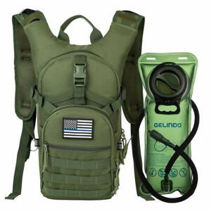 68f28f42f86 Image is loading 15L-Military-Tactical-Backpack-Hydration-Pack-With-2L-
