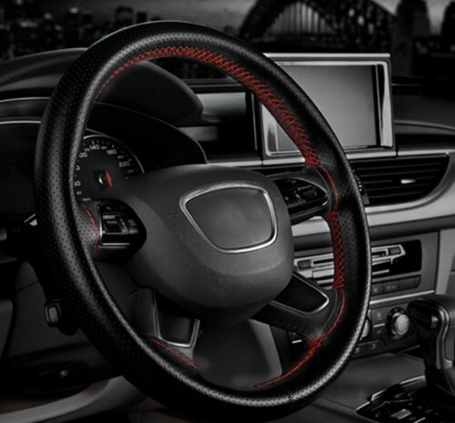 all Models NEW Bicast Leather Steering Wheel Cover Honda