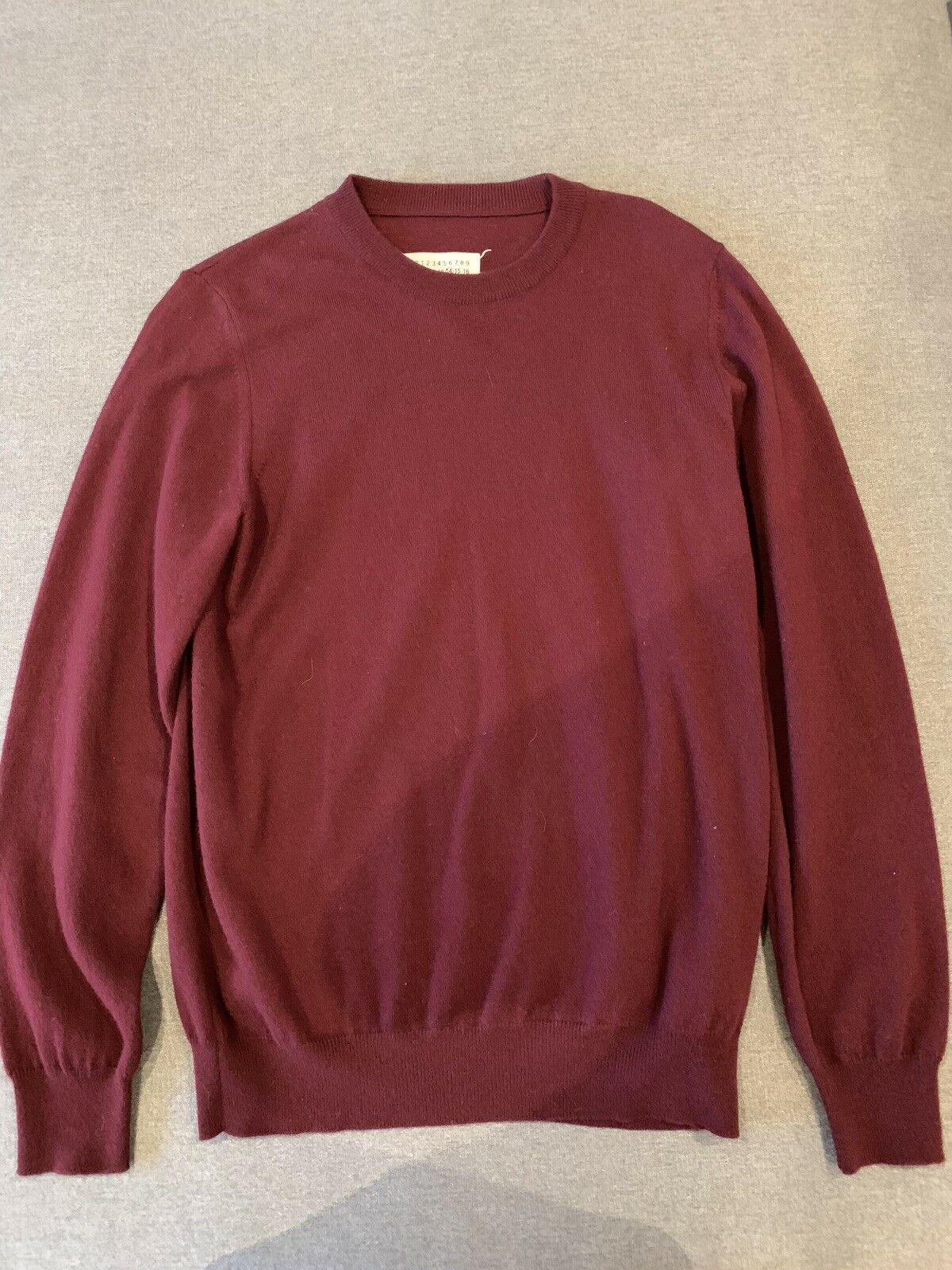 Maison Margiela Wool Sweater 48 Medium Made In