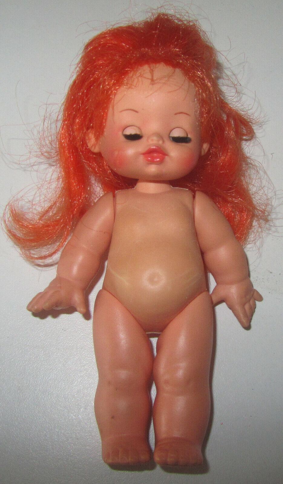 Mini Furga Tina Tilly ROSSA SPESE GRATIS vintage doll Bambola