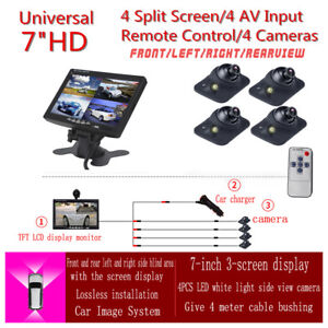 7-inch-Car-Monitor-4-split-screen-4-Auto-dimming-LED-Night-cameras