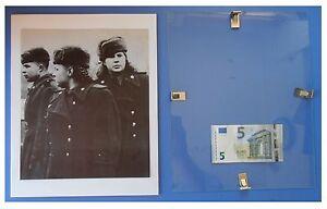Militari-sovietici-a-Berlno-Russia-URSS-Comunismo-quadro-cornice-vetro-cm-30x24