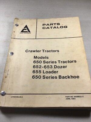 Business & Industrial Allis Chalmers Models 650 652 653 655 ...
