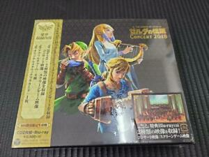 CD Blu-ray The Legend of Zelda Concert 2018 First Press Limited Edition CD